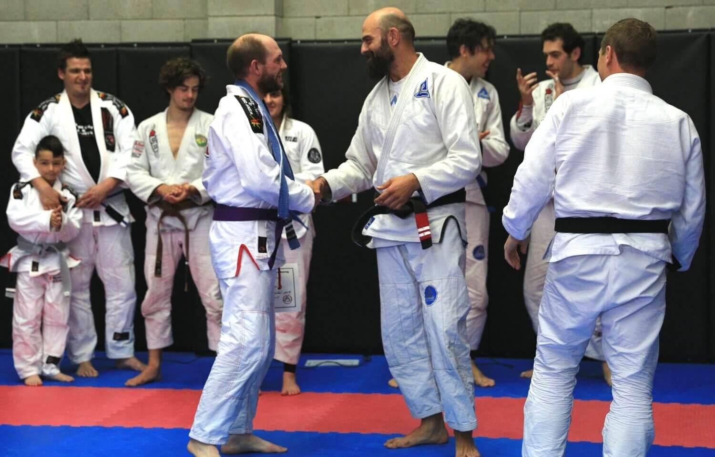 Wing Chun & Jiu-Jitsu Melbourne Instructors and Trainers with Trainees 8696