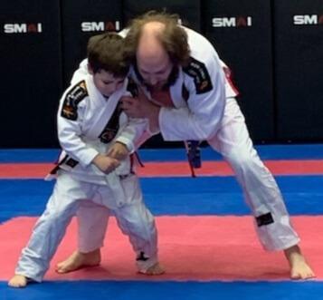 Wing Chun & Jiu-Jitsu Melbourne Child Training Proper Stance-Nicholas2BBJJ2B3