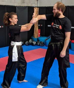 Wing Chun & Jiu-Jitsu Melbourne - Children Martial Arts Female Student -20180602_121644