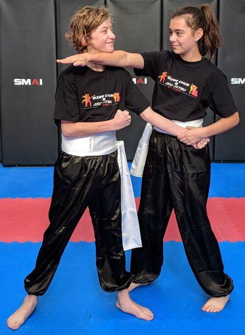 Wing Chun & Jiu-Jitsu Melbourne - Children Martial Arts Two Female in Progress IMG_20180602_121456-1