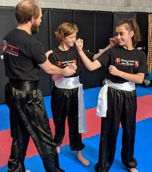 Wing Chun & Jiu-Jitsu Melbourne - Children Martial Arts with two Female Students IMG_20180602_121609