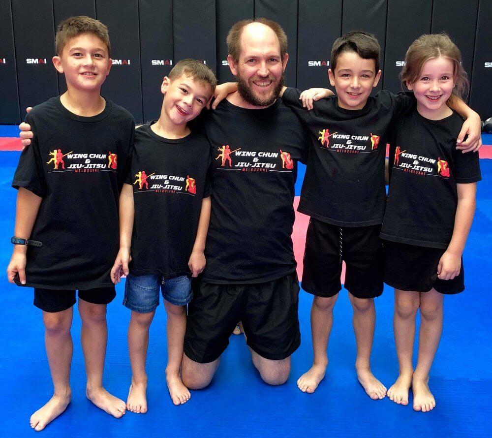 Wing Chun & Jiu-Jitsu Melbourne - Childrens Martial Arts Group Photo KMAGGroupphoto