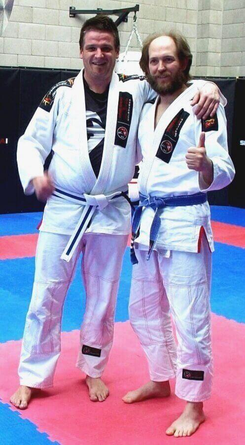 Wing Chun & Jiu-Jitsu Melbourne Declan Trainor with Other Martial Artist-DJI_0066