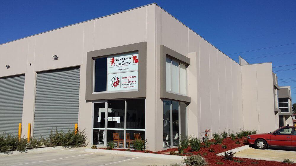 Wing Chun & Jiu-Jitsu Melbourne - Exterior View of the School Building 08-1