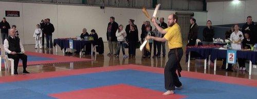 Wing Chun & Jiu-Jitsu Melbourne - Gym Intructor in NAS Victorian State Championship NAS2015Rd2BS10