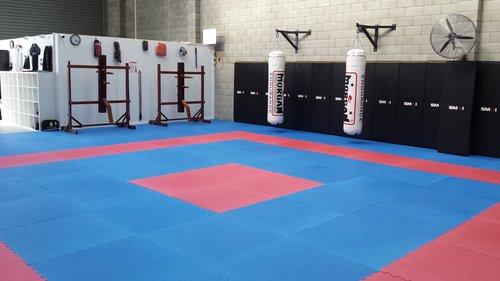 Wing Chun & Jiu-Jitsu Melbourne - Martial Arts Gym with Wall Pads - WCJJMwithwallpads1-2