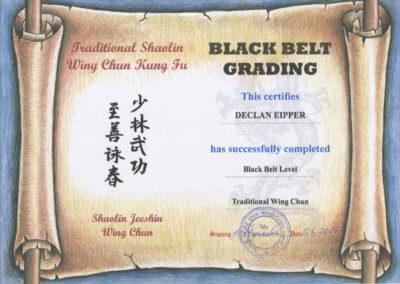 Wing Chun & Jiu-Jitsu Melbourne - Owner Black Belt Certificate 2.1MBBlackBeltCertificateWCcompressed-400x284