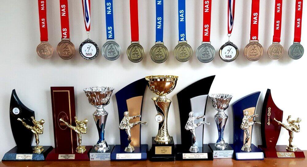 Wing Chun & Jiu-Jitsu Melbourne School Best Trophies and Medals Best2BTrophies2BWCJJM