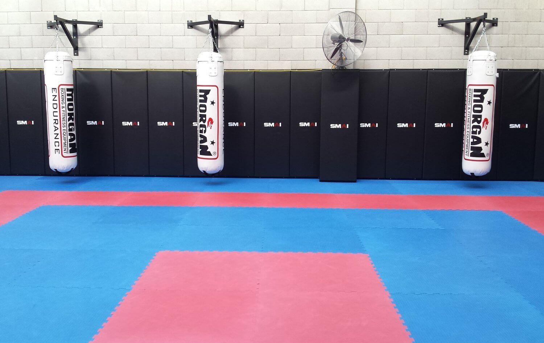 Wing Chun & Jiu-Jitsu Melbourne - Spacious Karate School Punching and Padding 8