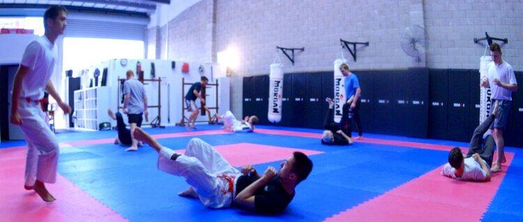 Wing Chun & Jiu-Jitsu Melbourne Training Session-71A_8950