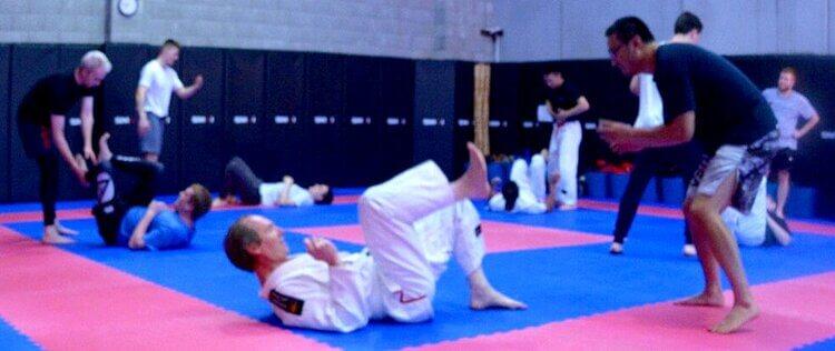 Wing Chun & Jiu-Jitsu Melbourne Training Session- 71A_8958